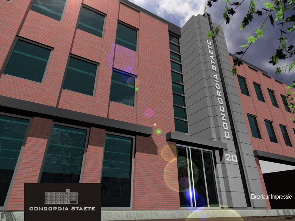 Interieurvoorstel Penthouse Kantoor