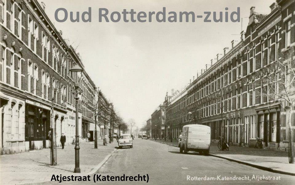 Atjestraat (Katendrecht) Oud Rotterdam-zuid