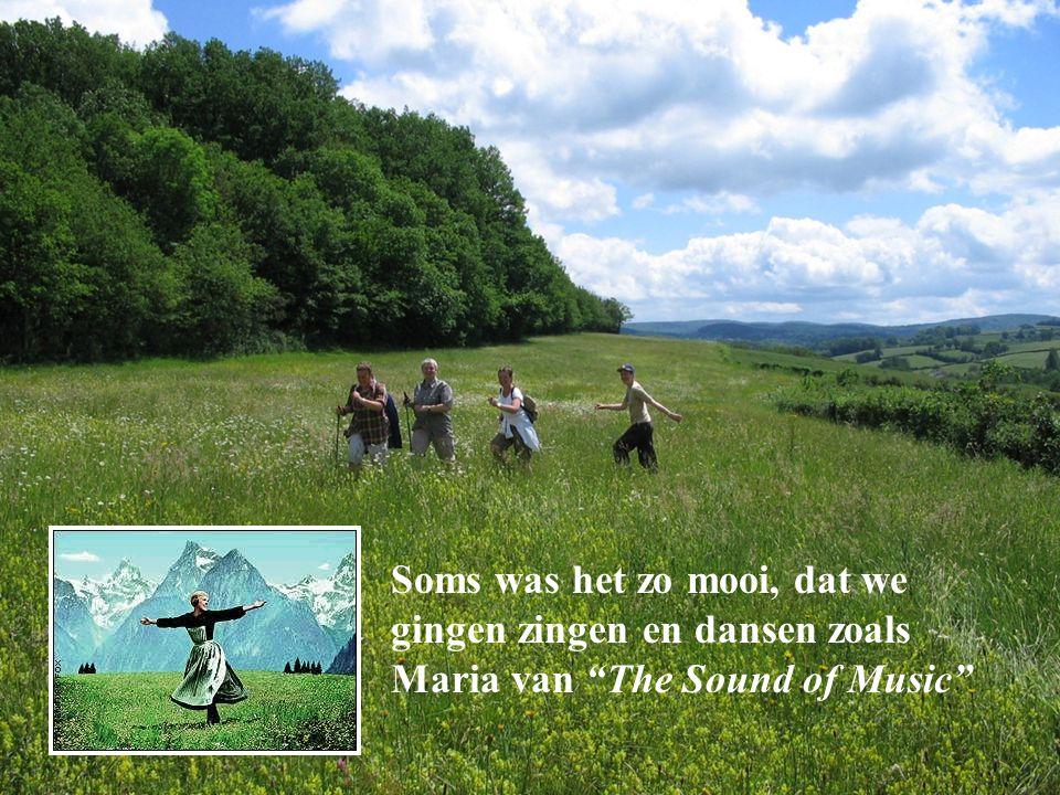 """Soms was het zo mooi, dat we gingen zingen en dansen zoals Maria van """"The Sound of Music"""""""