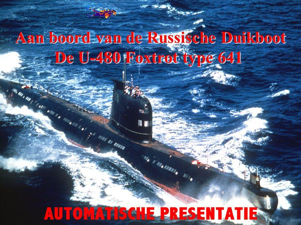 Russische Duikboot U-480 Foxtrot type 641 Ga maar lekker kijken