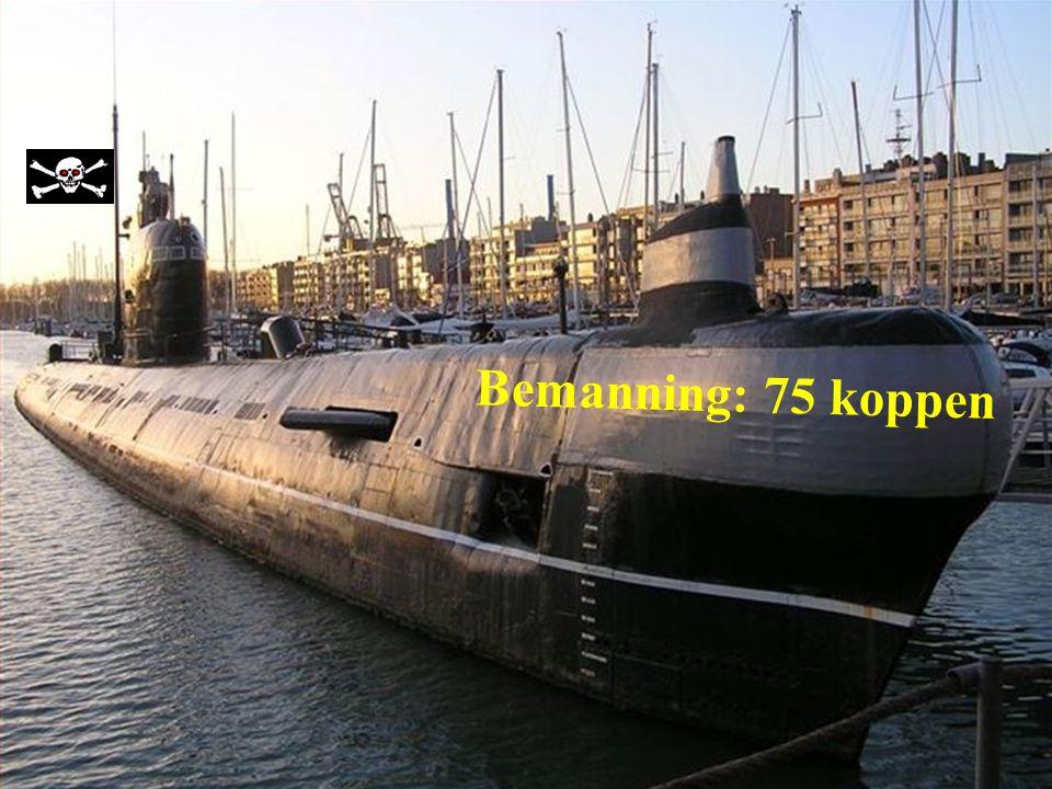 De U-480 Foxtrot type 641 Ligplaats te Zeebrugge als museumschip. Bouwjaar 1960 te Leningrad (Rusland)