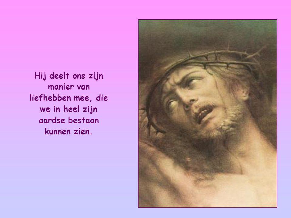 En Jezus verzekert ons van zijn vriendschap.