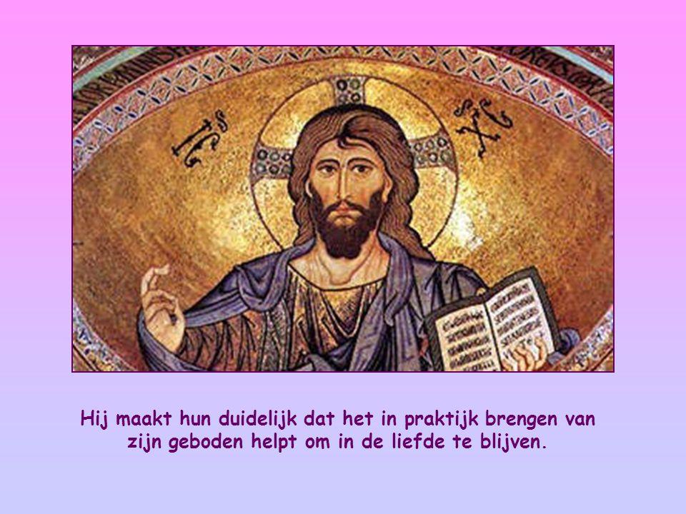 Deze woorden van Jezus zijn te lezen in zijn lange toespraak, zoals die in het evangelie van Johannes wordt weergegeven.