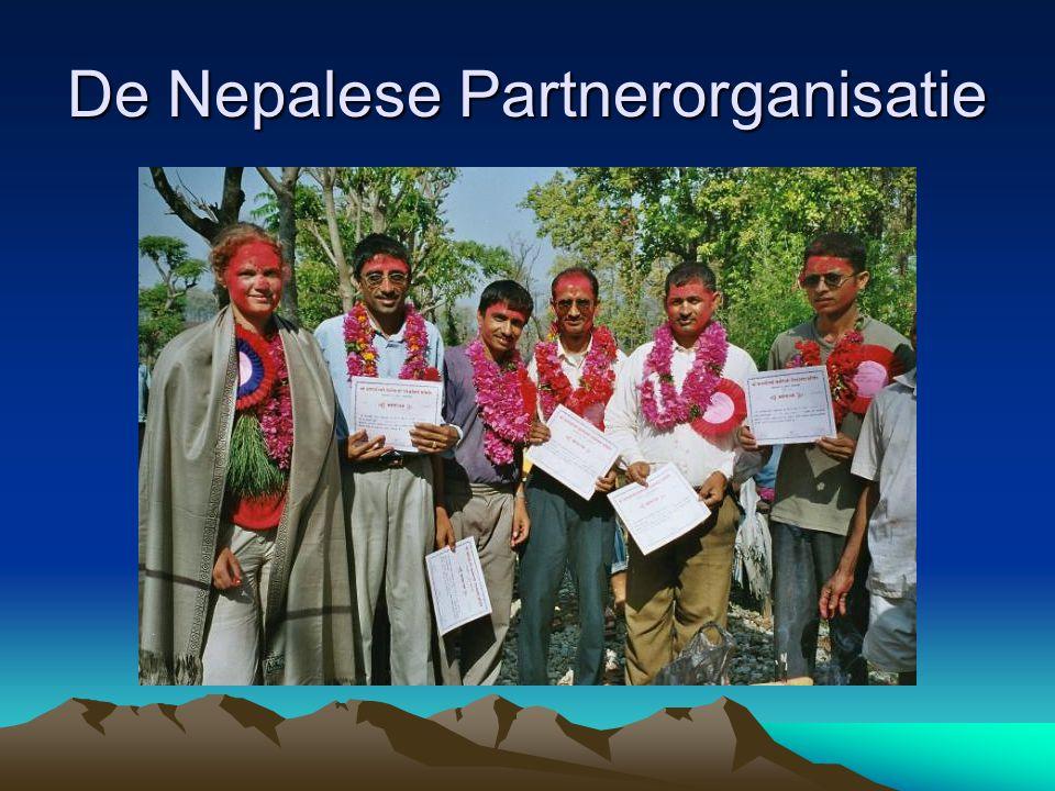 De Nepalese Partnerorganisatie