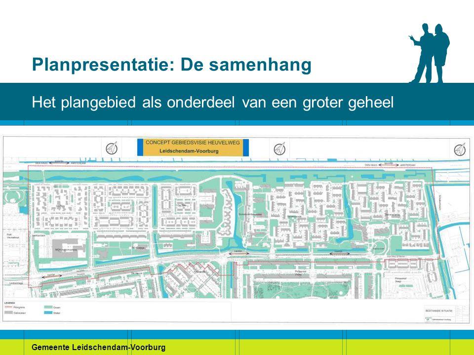 Gemeente Leidschendam-Voorburg Planpresentatie: De samenhang Het plangebied als onderdeel van een groter geheel