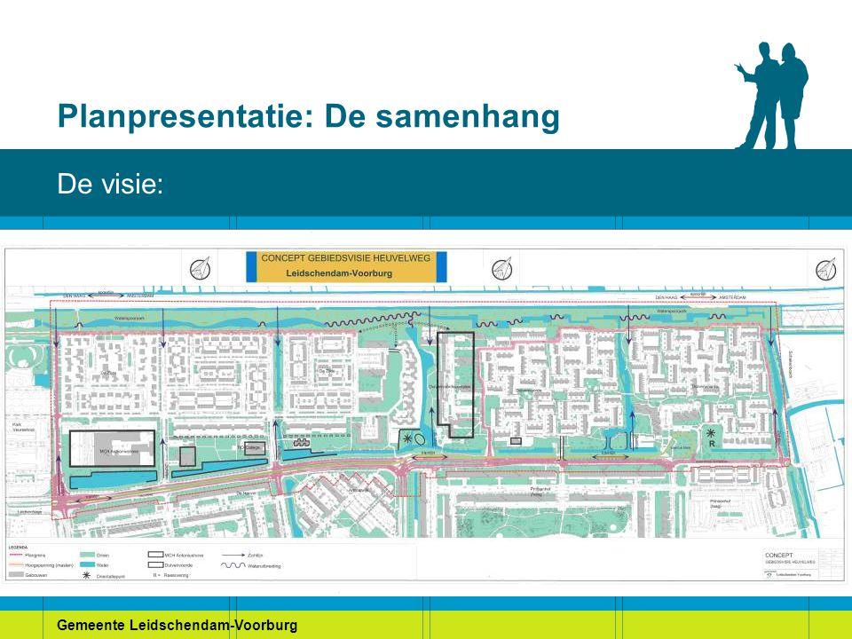 Gemeente Leidschendam-Voorburg Planpresentatie: De samenhang De visie:
