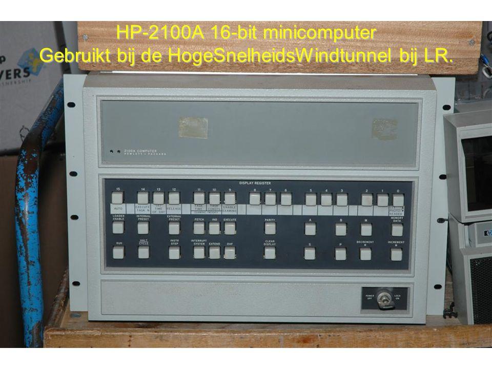 HP-2100A 16-bit minicomputer Gebruikt bij de HogeSnelheidsWindtunnel bij LR.