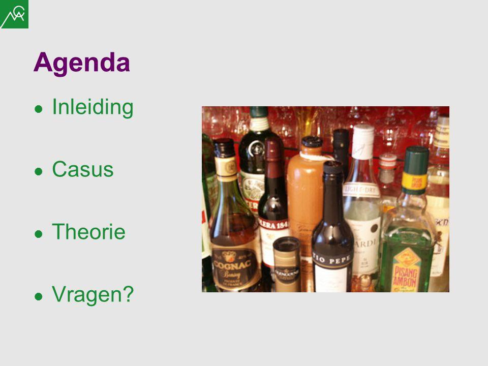 Agenda Inleiding Casus Theorie Vragen?