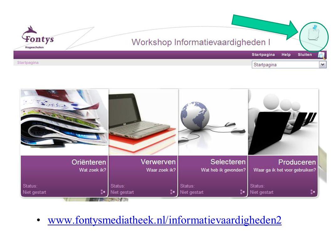 www.fontysmediatheek.nl/informatievaardigheden2