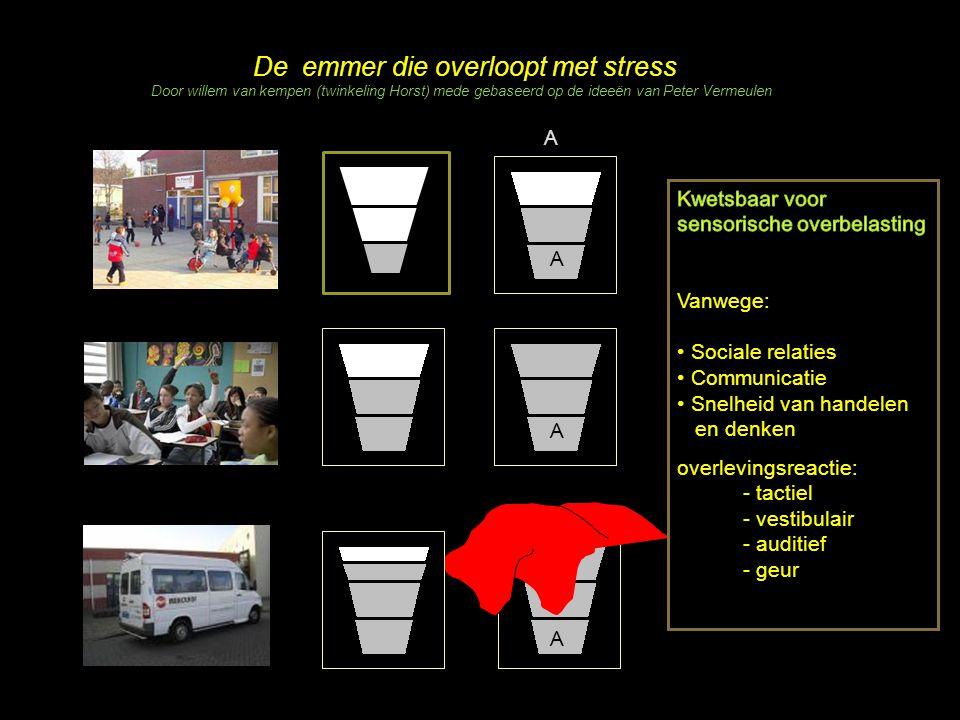 A De emmer die overloopt met stress Door willem van kempen (twinkeling Horst) mede gebaseerd op de ideeën van Peter Vermeulen A A A