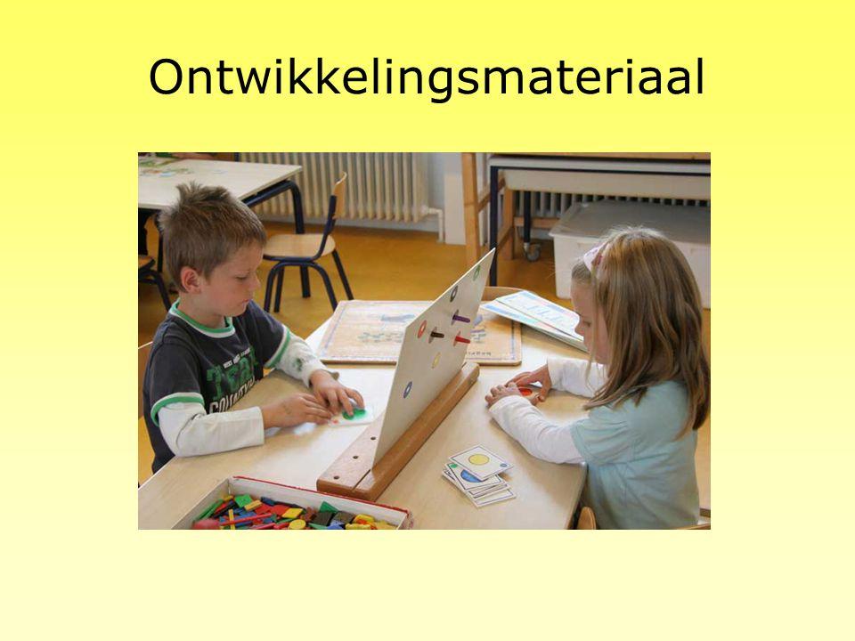 Het planbord De jongste kleuters krijgen elke ochtend een opdracht van de leerkracht. Op het takenbord staat een foto van het werkje met daar onder hu