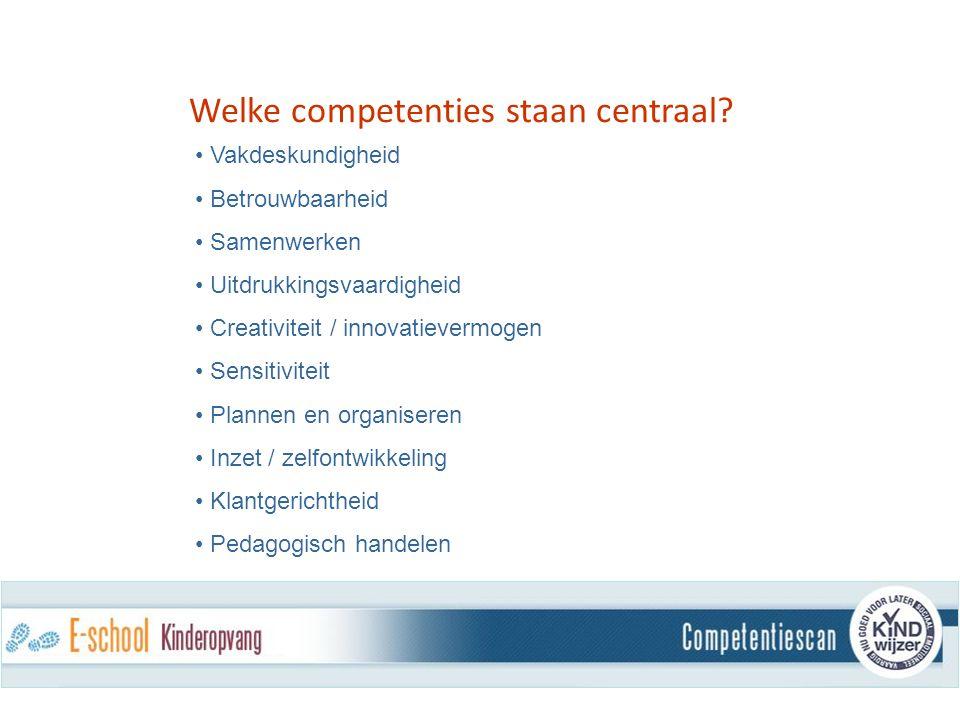 Welke competenties staan centraal.