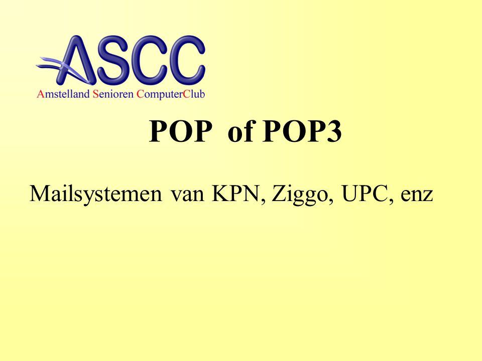 Soorten E-mail IMAP = Internet Message Acces Protocol