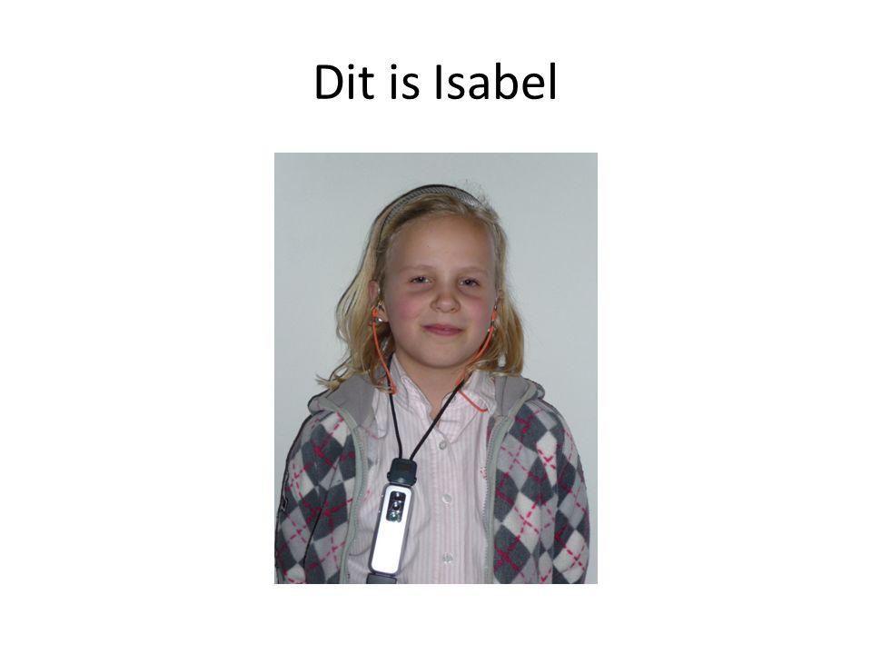 Dit is Isabel
