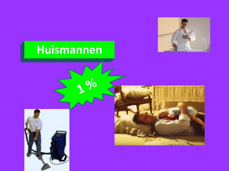 Huismannen 1 %