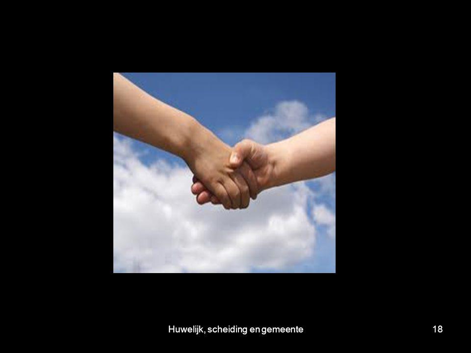 Huwelijk, scheiding en gemeente18