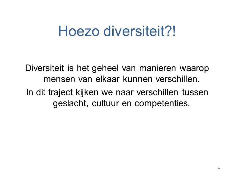 Hoezo diversiteit?.
