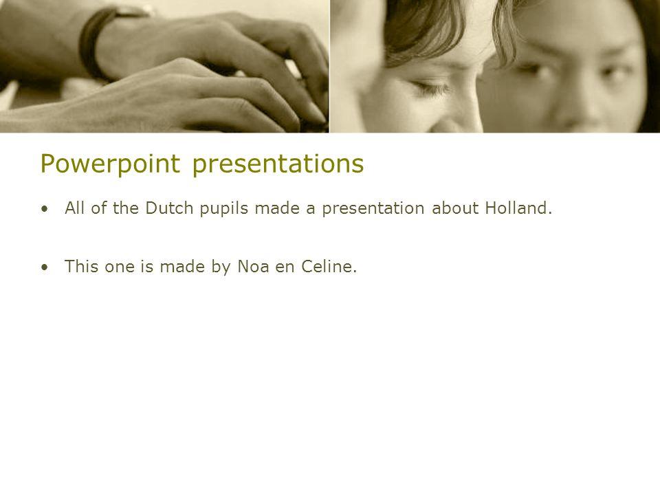 """Presentation NL movie Powerpoint presentation """"Typical Dutch""""."""