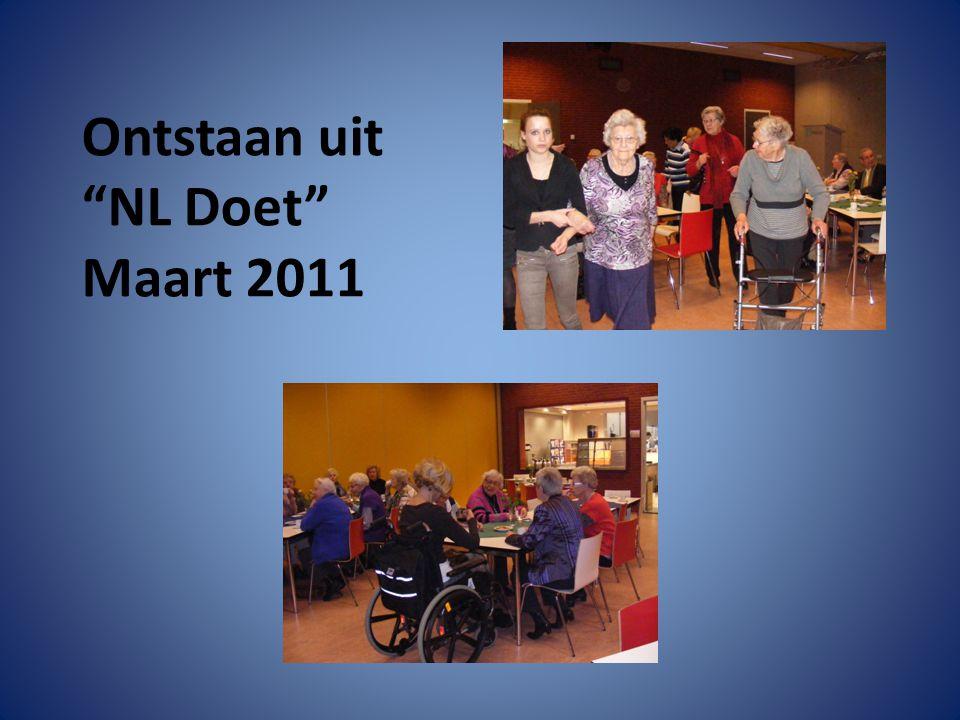"""Ontstaan uit """"NL Doet"""" Maart 2011"""