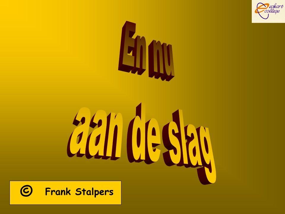 © Frank Stalpers