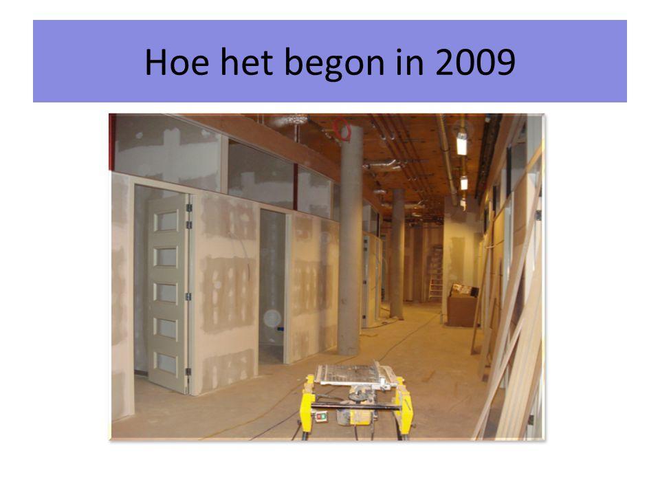 Hoe het begon in 2009