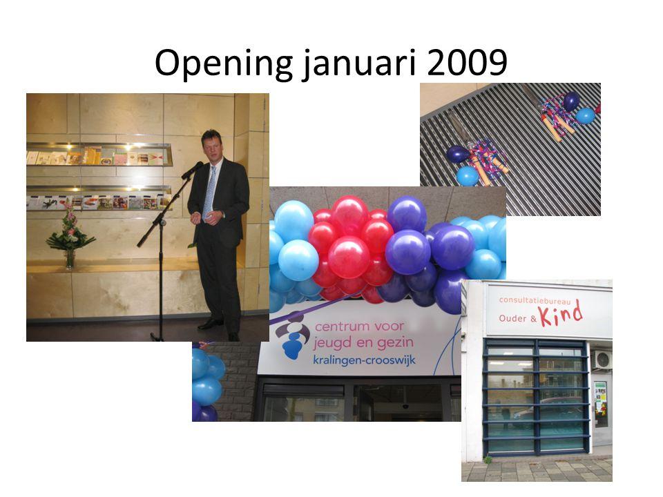 Opening januari 2009