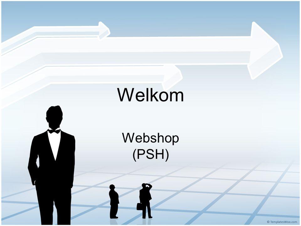 Welkom Webshop (PSH)
