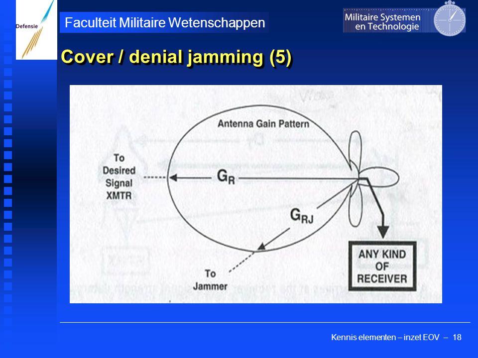 Kennis elementen – inzet EOV – 18 Faculteit Militaire Wetenschappen Cover / denial jamming (5)