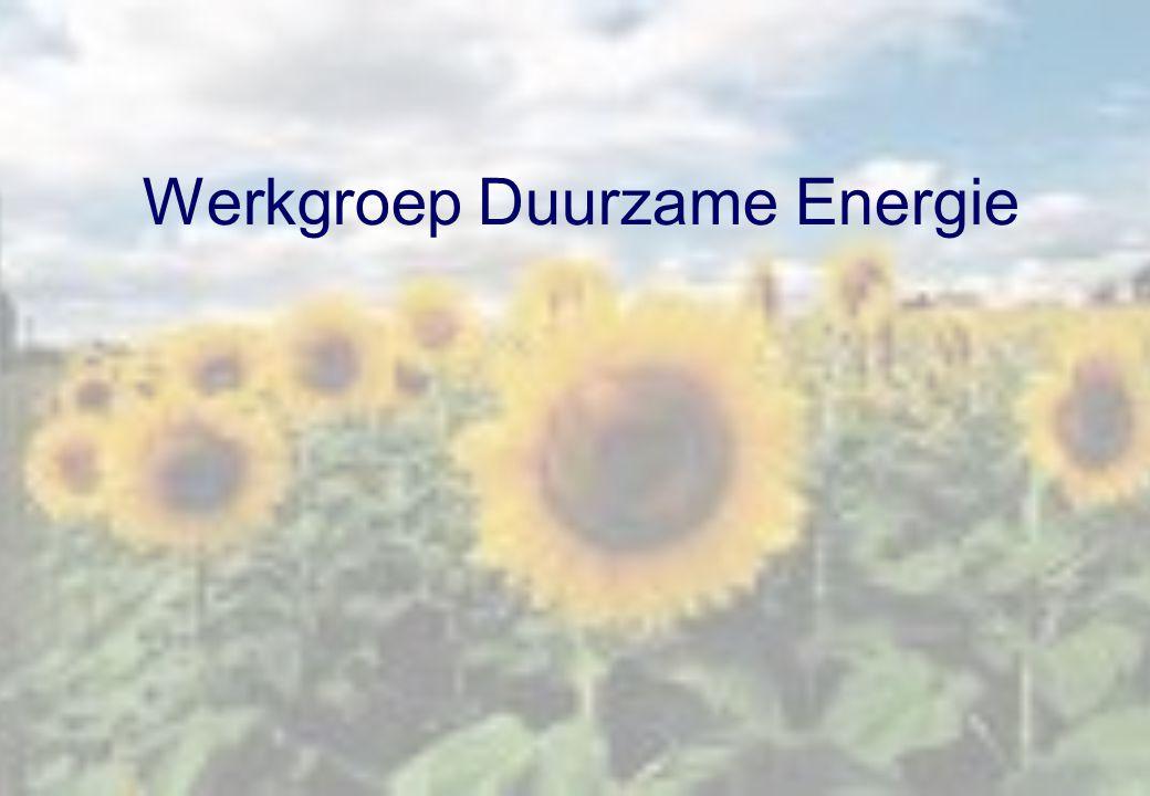 Werkgroep Duurzame Energie