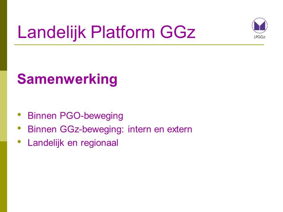 Landelijk Platform GGz Professionaliteit Kennis (Ervarings)deskundigheid Specialisme Actualiteit