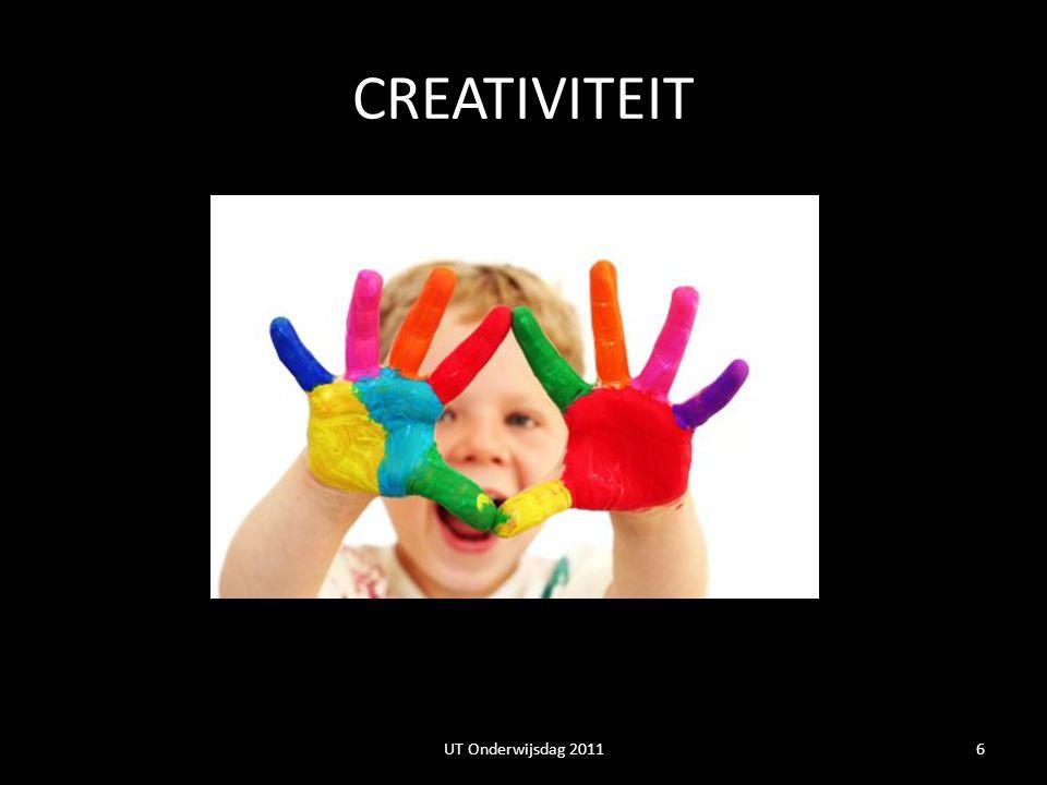 CREATIVITEIT 6UT Onderwijsdag 2011