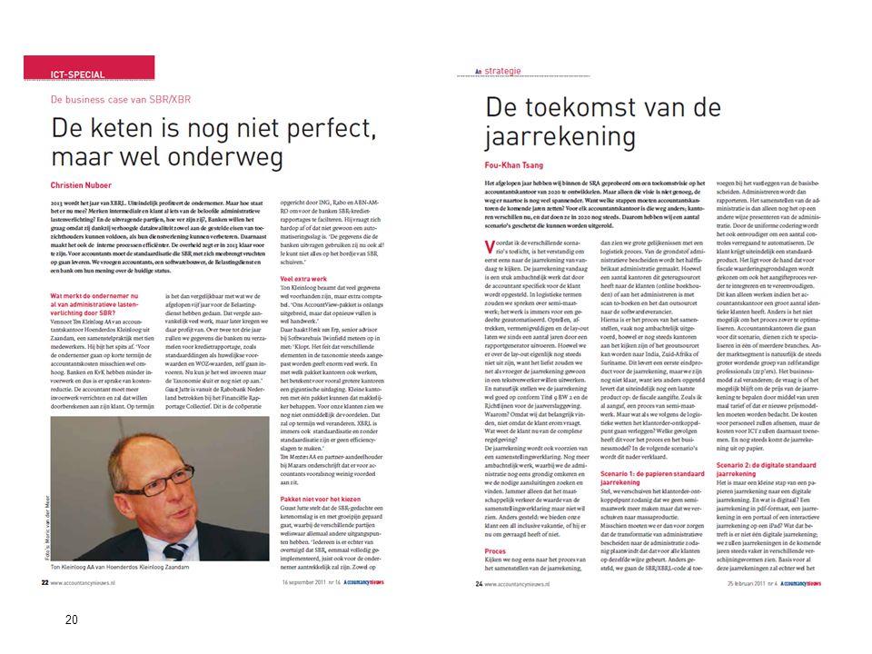 20Standard Business Reporting Programma Een initiatief van de Nederlandse overheid