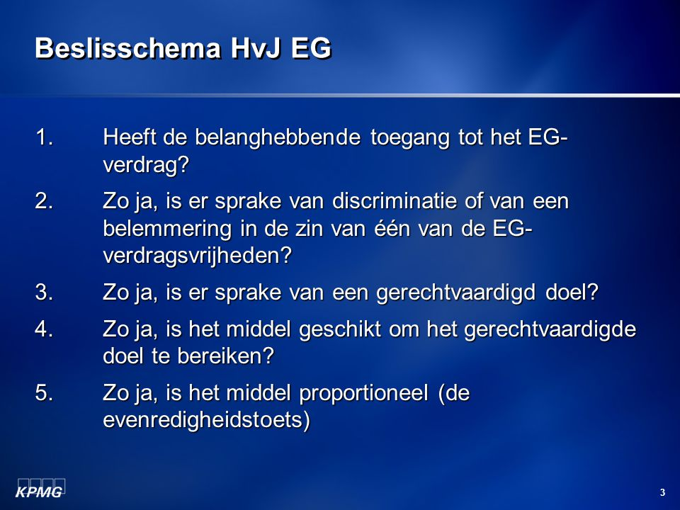 24 Erwin Nijkeuter KPMG Meijburg & Co Arnhem Erasmus Universiteit Rotterdam nijkeuter.erwin@kpmg.nl The information contained herein is of a general nature and is not intended to address the circumstances of any particular individual or entity.