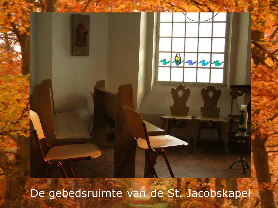 De gebedsruimte van de St. Jacobskapel