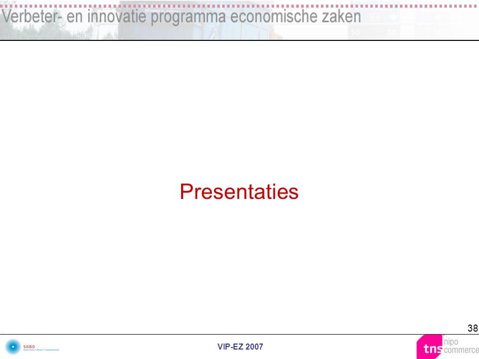 VIP-EZ 2007 38 Presentaties