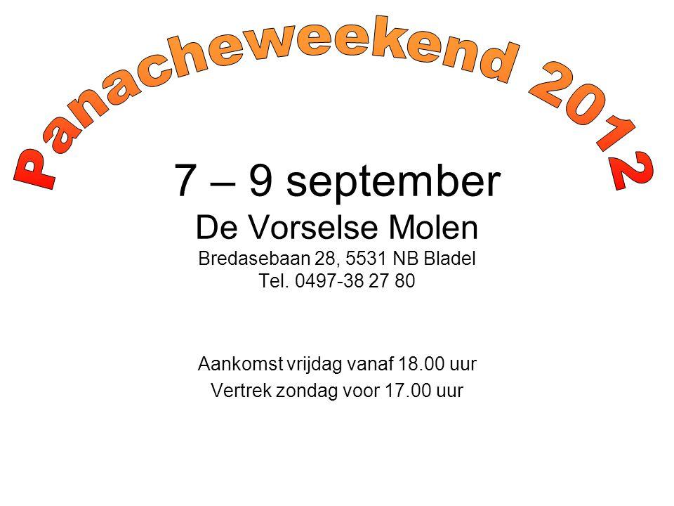 De Vorselse Molen Vanuit de richting Eindhoven of Antwerpen: 1.neem afslag 29 (Hapert, Bladel, Reusel) op A67/E34; 2.volg de N284 richting Bladel; 3.volg Bladel Zuid (1e verkeerslicht linksaf - Bredasebaan); 4.na 2 km ligt De Vorselse Molen aan de linkerkant; 5.ga over de witte vluchtheuvel Vanuit de richting Tilburg: A.neem afslag 10 (Hilvarenbeek) op A58/E312; B.volg de N269 richting Reusel; C.bij Reusel, volg Rondweg Noord tot aan de rotonde met aanduiding Bladel, Eersel; D.volg de N284 richting Bladel; E.ga verder bij 3.