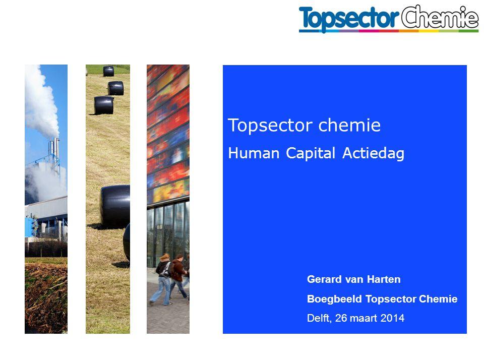 Topsector chemie Human Capital Actiedag Gerard van Harten Boegbeeld Topsector Chemie Delft, 26 maart 2014