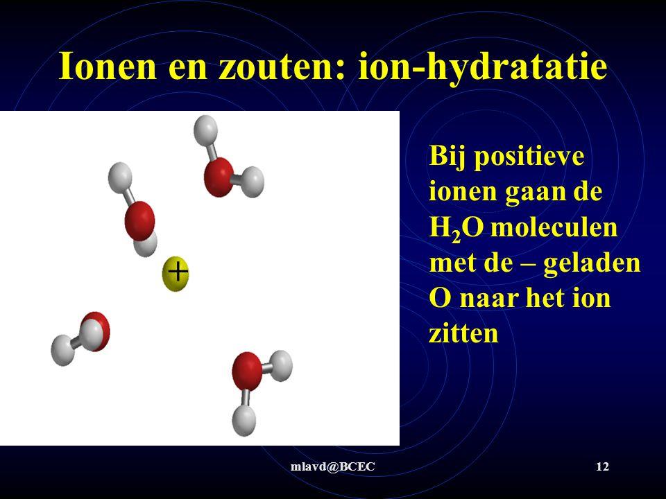 mlavd@BCEC11 Ionen en zouten: oplosbaarheid Lost magnesiumhydroxide op in water ?.
