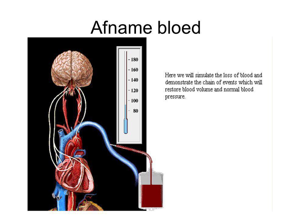 Afname bloed
