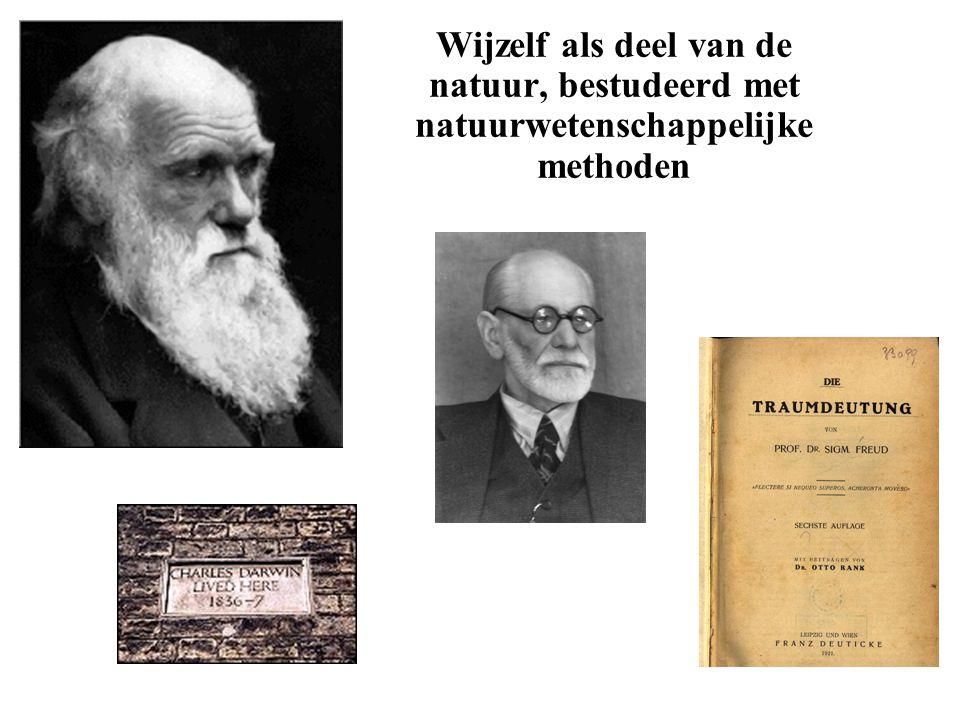 Wijzelf als deel van de natuur, bestudeerd met natuurwetenschappelijke methoden