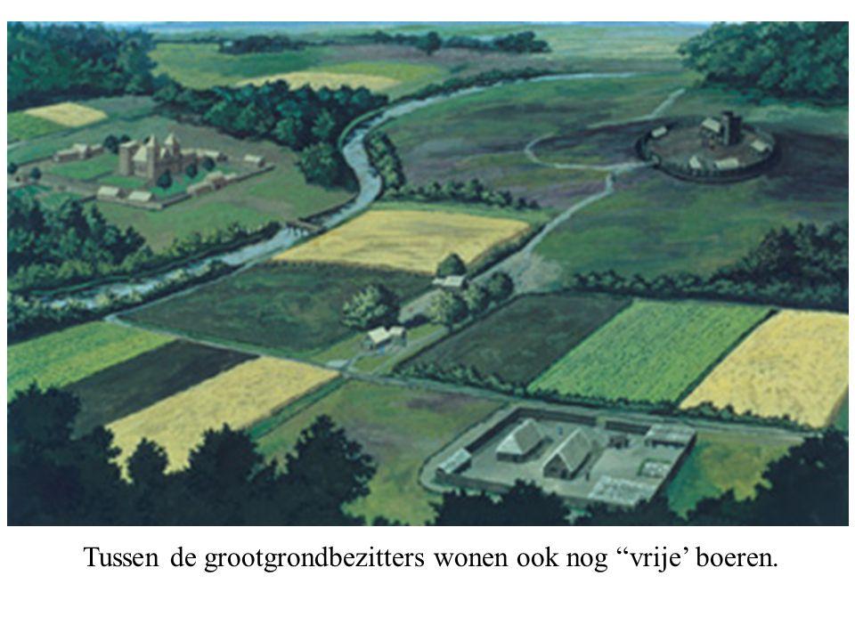"""Tussen de grootgrondbezitters wonen ook nog """"vrije' boeren."""