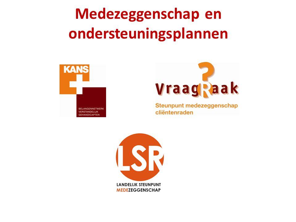 Verbeteren en borgen kwaliteit zorg en ondersteuning : - Zorg op Maat - Kwaliteit van bestaan - Zeggenschap - Regie over eigen leven - Indicatie AWBZ in ZZP, (zorgzwaartepakket) ONDERSTEUNINGSPLAN