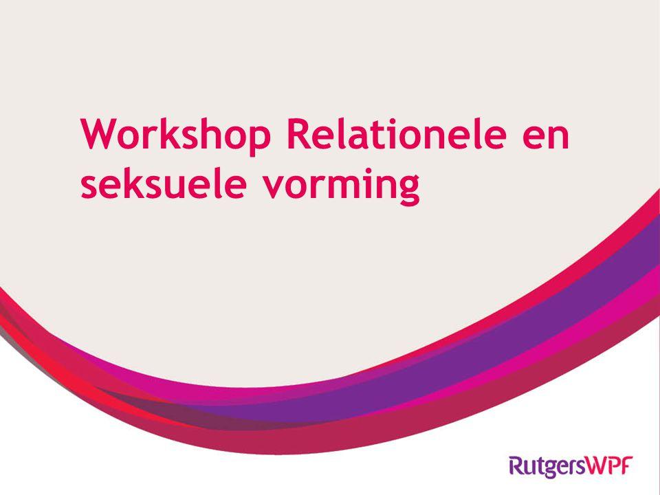 Programma 1.Wat is relationele en seksuele vorming 2.Seksuele ontwikkeling 3.Criteria om normaal seksueel gedrag te duiden 4.Weerstanden