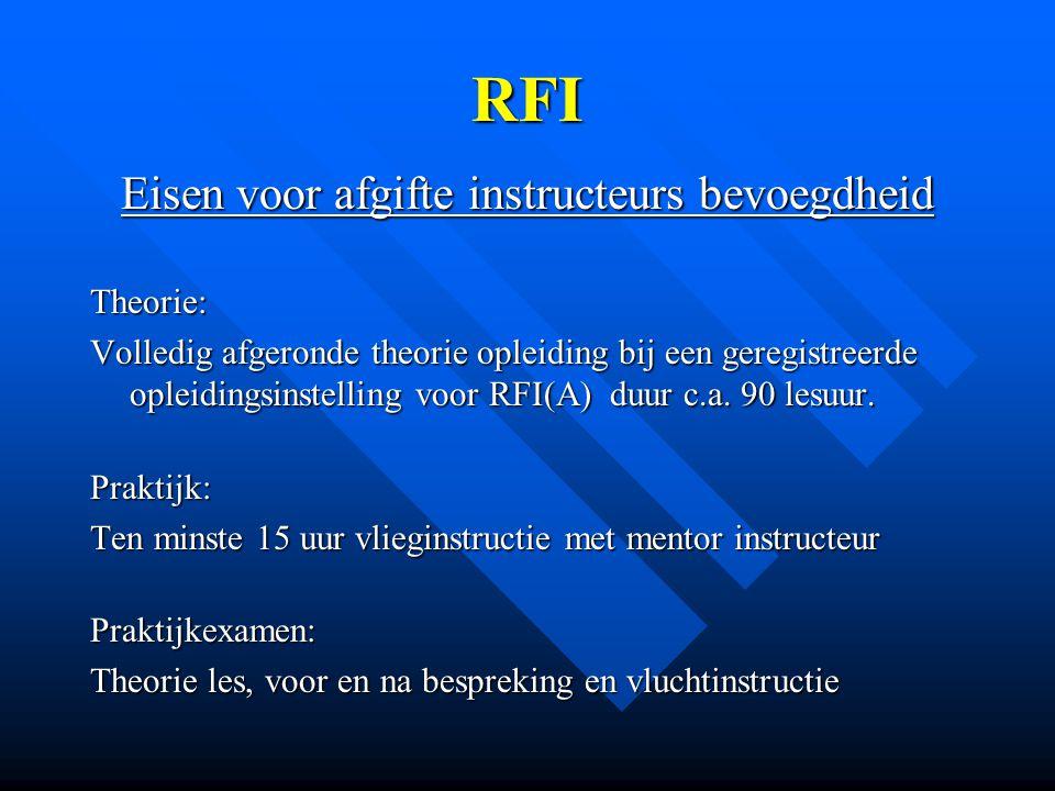 Verlenging RFI(A) TMG 1.
