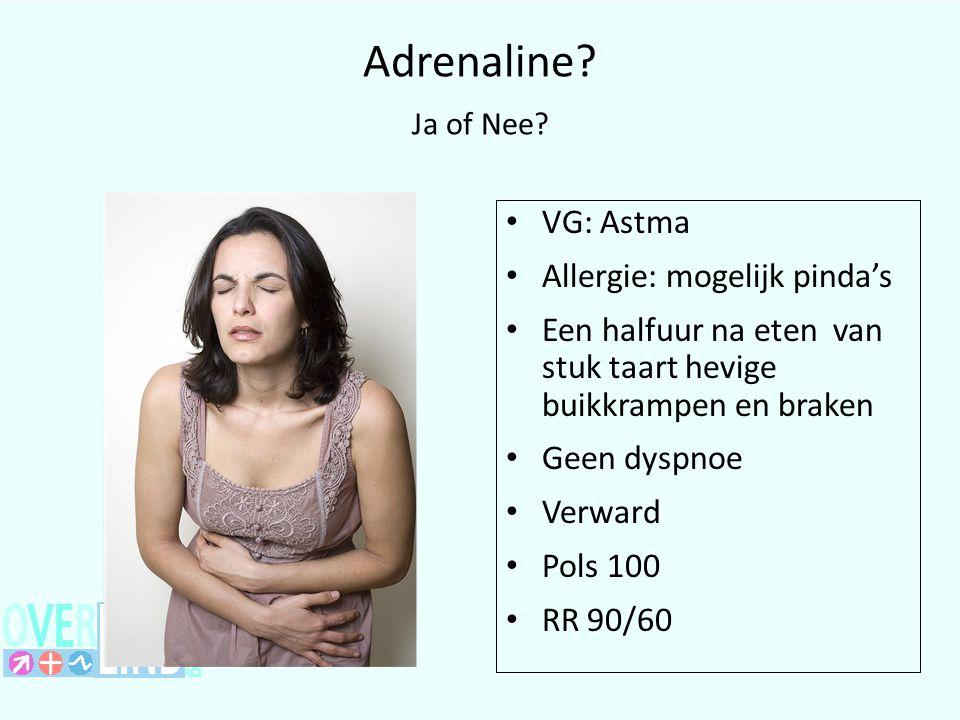 Adrenaline.Ja of Nee.