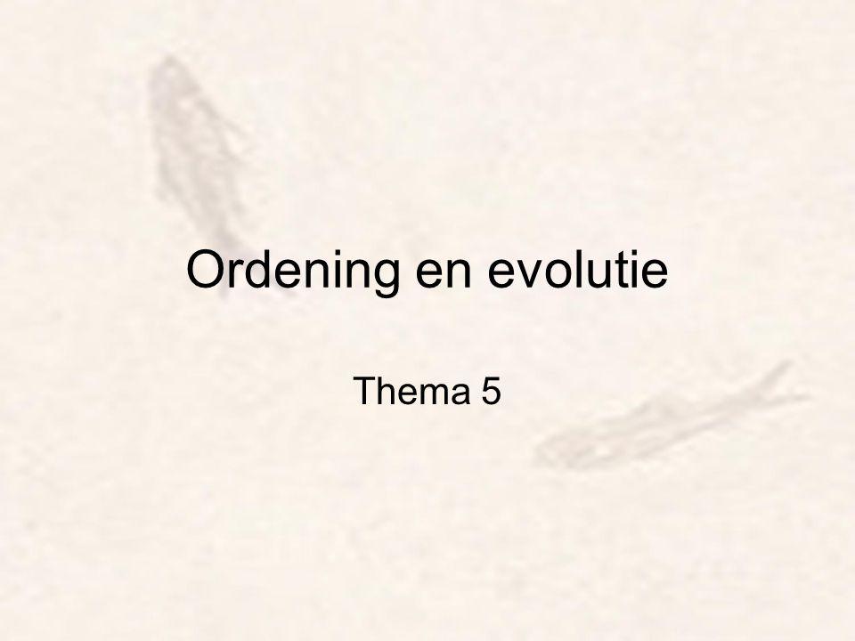 Taxonomie –Taxon (= groep) –Indelen, naamgeven van alles, in dit geval organismen –Dynamisch systeem, dat steeds wordt aangepast aan de hand van nieuwe ontdekkingen en inzichten.