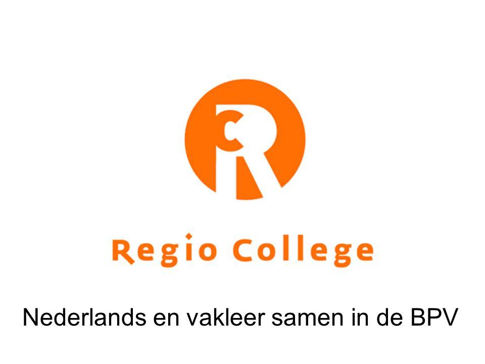 Tot stand komen samenwerking Nederlands en Vakleer 2009- 2010 Keuze om in niveau 3, Eerste Autotechnicus (EAT), Nederlands te integreren in de vakleer Dit curriculum wordt voorbeeld voor uitwerking andere opleidingen Start taalprofiel maken op basis van taaltaken in de werkprocessen van EAT Koppelen taalprofiel aan de vakleermodulen en de beoordeling
