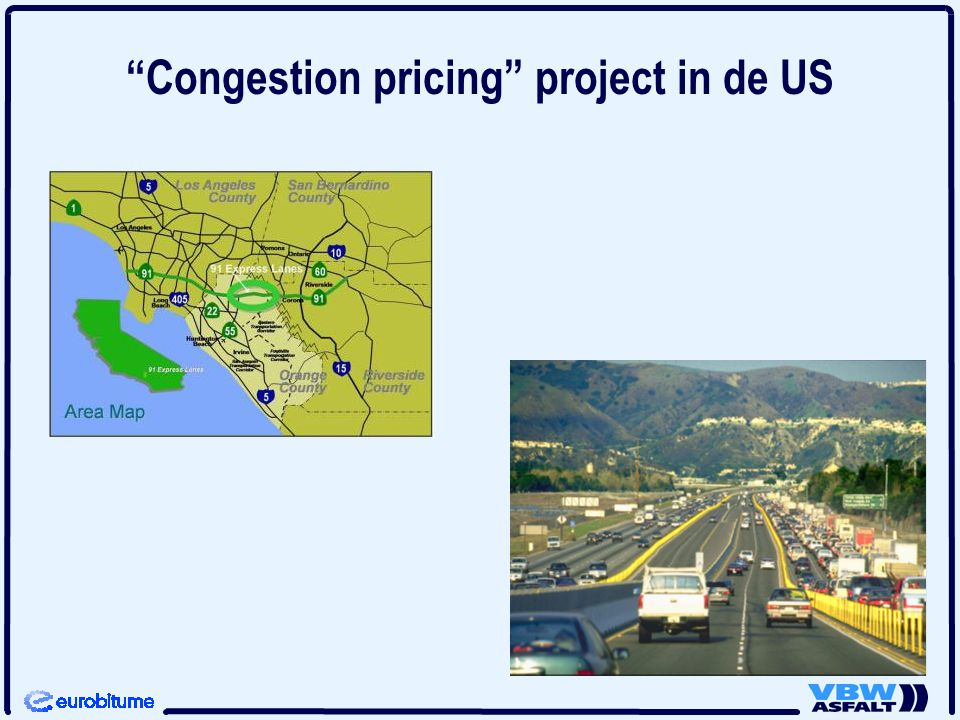 """Congestion pricing"" project in de US"