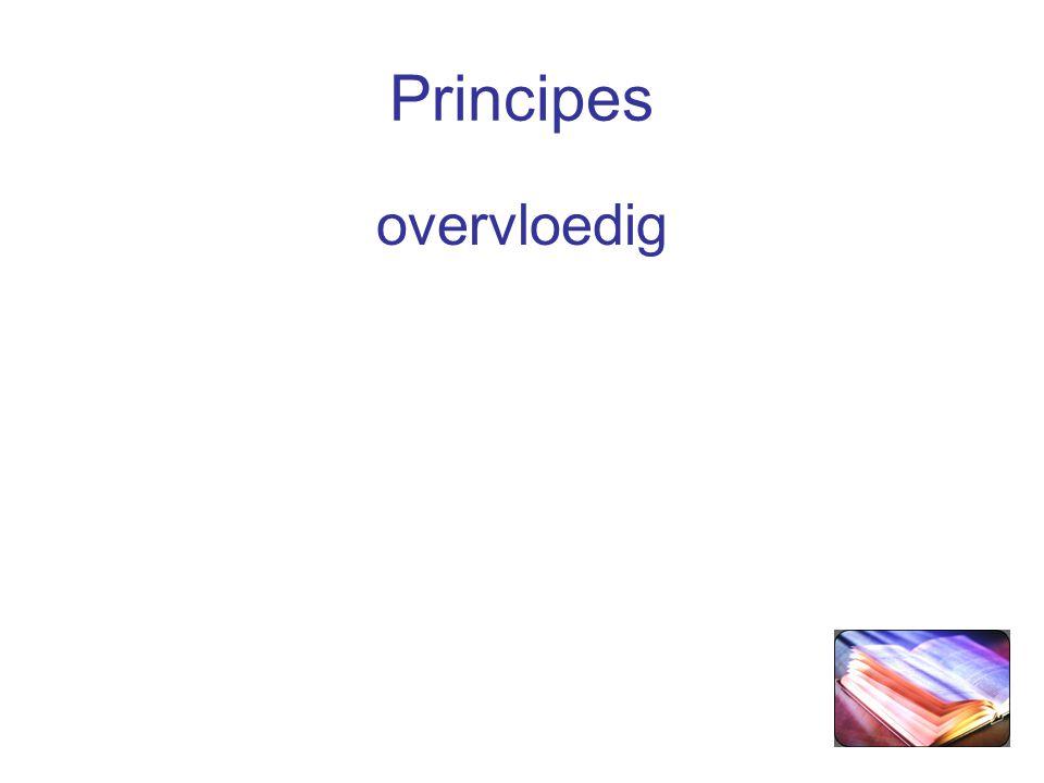 Principes overvloedig