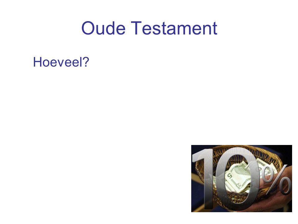 Nieuwe Testament Waarvoor geven.-Nood van anderen ver weg (2 Cor.